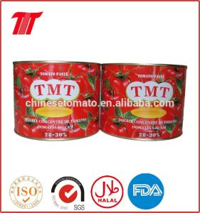 2200g+70g Organic Ginny Brand Canned Tomato Paste pictures & photos