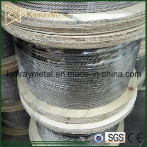 AISI 316 Stainless Steel 7X7 Flexible Wire Rope