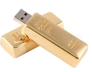 Paypal Acceptable Gold Bar USB Flash Drive (J-008)