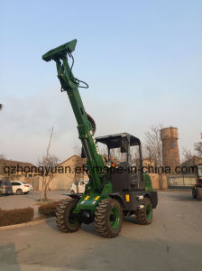 Hongyuan Telescopic Loader Zl10f pictures & photos