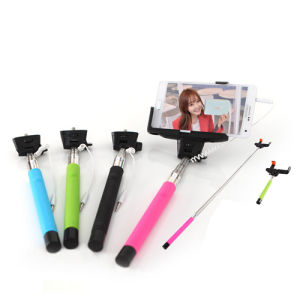 Monopod Plug Into Headphone Jack for Mobile Phone pictures & photos