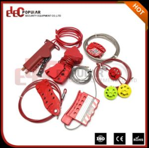 Elecpopular Multipurpose Steel Cable Lock and Wire Cable Lockout pictures & photos