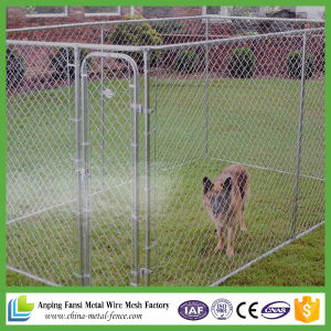 10 Ft X10 Ft X 6 Ft Chain-Link Dog Kennel