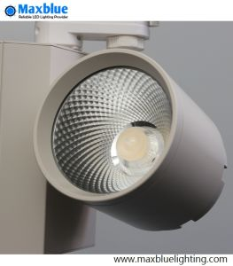 High CRI 95ra Black Finish COB LED Track Light pictures & photos