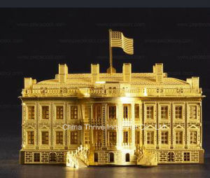 3D Metal Model -The White House pictures & photos