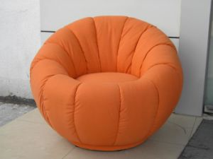 X 43 Pumkin Chair Children Sofa Fabric Material Kids Comfortable Lazy Bone