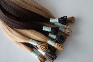 Keratin Hair Extensions I Tip Hair pictures & photos
