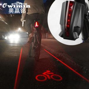 5 LED Flashing Lamp Rear Cycling Bicycle Bike Safety Warning Warn Tail Light NEW