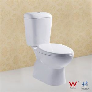 Two Pieces Water Closet with Watermarks Certificate