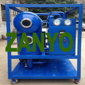 Single-Stage Pump Vacuum Transformer Oil Purifier