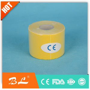 Surgical Sport Tape Bandage Elastic Wrap Tape Per-Cut Kinesio Tape 5cm*5m pictures & photos