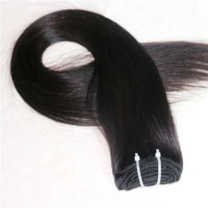 High Quality 100% Remy Peruvian Human Hair Clip Hair Extension pictures & photos