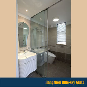 China CE As Certificated Mm Mm Shower Glass Partition Glass - Bathroom glass partition price