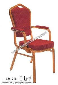 Stacking Banquet Arm Chairs CH1218