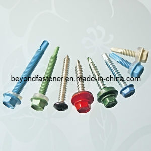 Color Screw Coating Head Screw Self Drilling Screw Self Tapping Screw pictures & photos