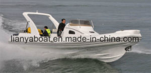Liya 27ft Hypalon Rib Boat Made in China Inflatable Boat Manufacturer pictures & photos