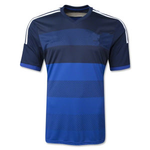 Maillot De Foot New 2014 World Cup Argentina Away Blue Camisetas De Futbol Short Sleeve Football Shirts and Argentino National Team Soccer Jerseys Uniforms Kit