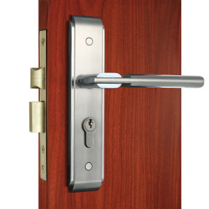 China Mortise Door Lock Entrance Door Hardware Zinc Alloy Handle ...