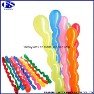 Best Selling Long Spiral Balloons Twist Latex Balloon Toy pictures & photos