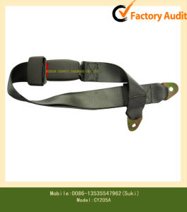 Manual 2-Point Polyester Safety Belt (CY205A)