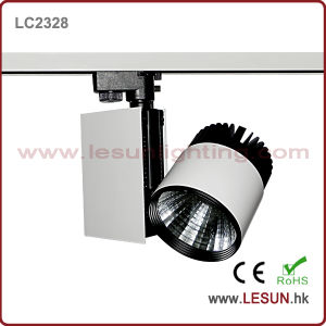 30W COB LED Track Light with High Lumen Intensity (LC2328) pictures & photos