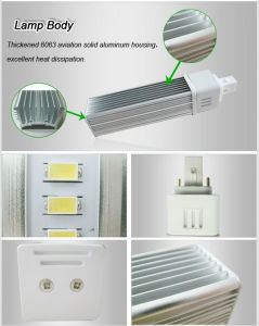 7W 5630SMD Samsung LED G24 LED Pl Lamp pictures & photos