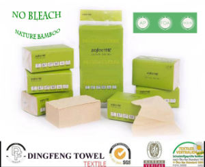 Nature 100% Bamboo Fiber Spunlace Deep Cleansing Tissue Paper pictures & photos