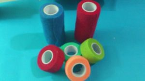 Disposable Nonwoven Cohesive Elastic Bandages pictures & photos