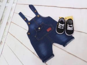 f2ecf2cdc4a64 China Hot Fashion Boys Kids Soft Washed Denim Bib Overall - China ...