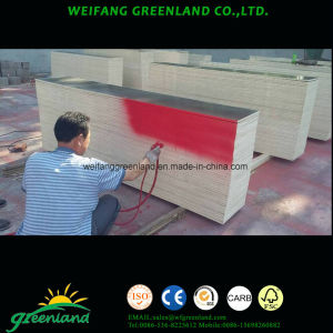 Hardwood Core, WBP Glue, Special Size Shuttering Film Faced Plywood for Construction pictures & photos