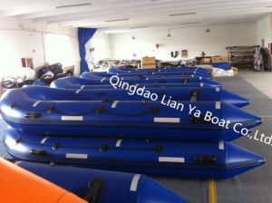 Liya 2m-6.5m Foldable Inflatable Boats Rescue Boat with Ce pictures & photos