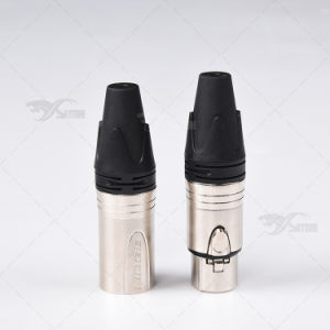 XLR Male and Female Audio Connector pictures & photos
