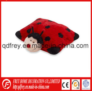China Supplier of Plush Ladybird Toy Pillow pictures & photos