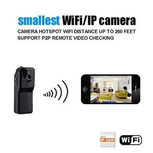 WiFi Camera P2p Mini DV Wireless IP Camera HD Micro Spy Hidden Cam Voice  Video Cam Recorder with TF Slot for iPhone Android, 4G Phone, Smartphone