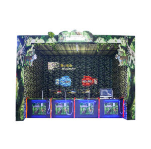 Indoor Shooting Game Machine Real Experience Hunting Games for 4 People Simulator Game Machines pictures & photos