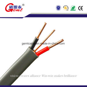 PVC Insulated Copper Flat Cable Flat Cable Flat Electrical Cable Wire pictures & photos