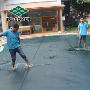 Swimming pool safety cover net equipment for swimming pool image in guangdong water pool for Swimming pool safety net covers