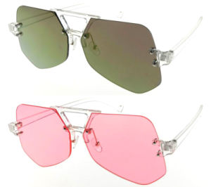 New Design Fashion Crystal Candy Lens Eyeglasses UV400 pictures & photos