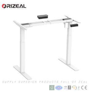 Orizeal Ergonomic Electrical Height Adjustable Desk Frame Electric Sit  Stand Desk Special Offer (OZ