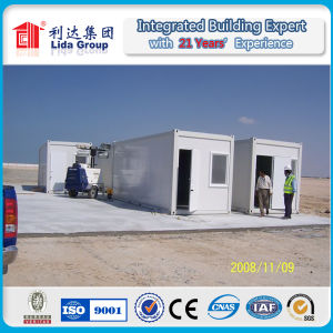 Low Cost Prefab Container Home for Social House pictures & photos