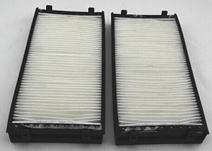 Auto Car Cabin Air Filter For BMW X5 64316945586 64119248294