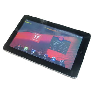China 10′′ Tablet PC/MID with Infotmic CPU & Android 4 0 O S, Build