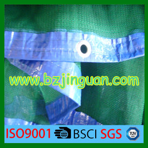 HDPE Sun Shade Net with Blue Hem for Agricultural