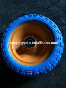 10 Inch PU Foam Wheel 4.00-8 3.50-6 3.00-4 pictures & photos