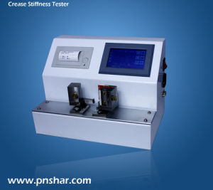 Digital Cardboard Crease Stiffness Tester Crease Stiffness Testing Equipment pictures & photos