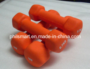 Hotsell Vinyl Dipping Fitness Dumbbells pictures & photos
