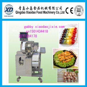 Automatic Electric Souvlaki Kebab Meat Skewer Machine pictures & photos