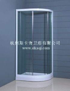 Simple Shower Enclosure with Clear Glass 900*700 pictures & photos