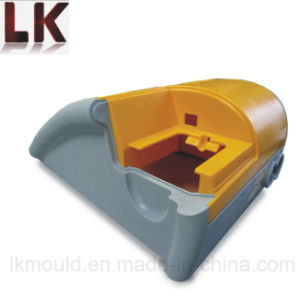 Two Color Plastic Injection Molded Parts with OEM Service