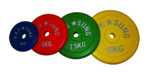 Colorful Rubber Coated Plate (016440)
